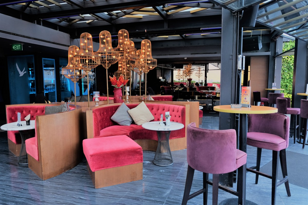 Cloud Lounge Is Rooftop Located At Floor 49th Of The Plaza Jakarta Fact That This In Already Amazing